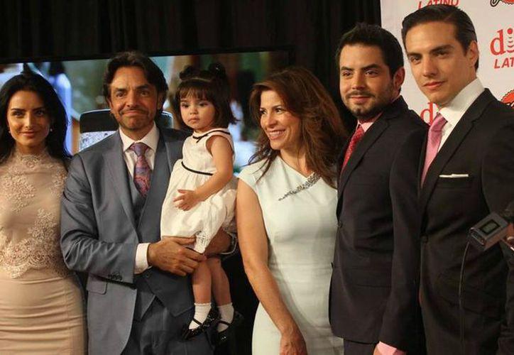 El actor y productor mexicano Eugenio Derbez ha tenido hijos con cuatro mujeres diferentes. (Foto: Univisión)