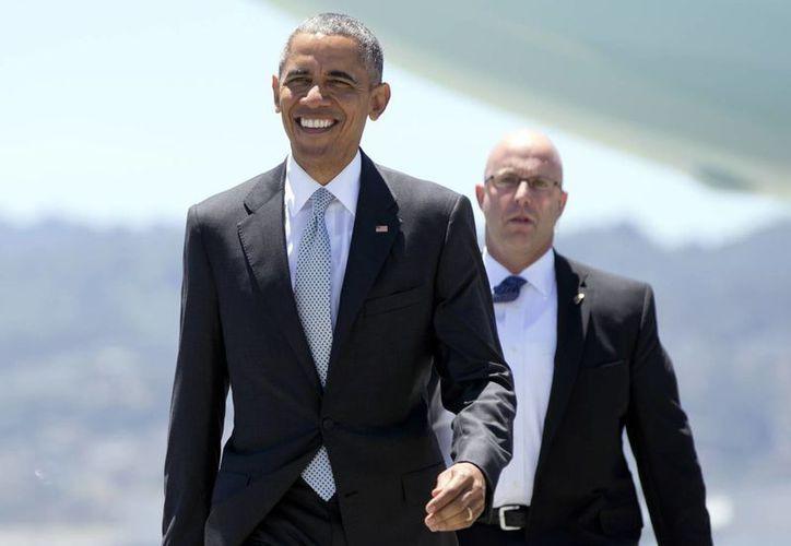 Según confesó él mismo, Obama vive en una burbuja de la cual es difícil escapar. (AP)