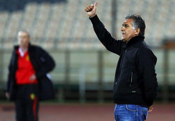 El portugués Carlos Queiroz, entrenador de la Selección de Irán que competirá en Brasil contra Argentina, Bosnia y Nigeria. (EFE)