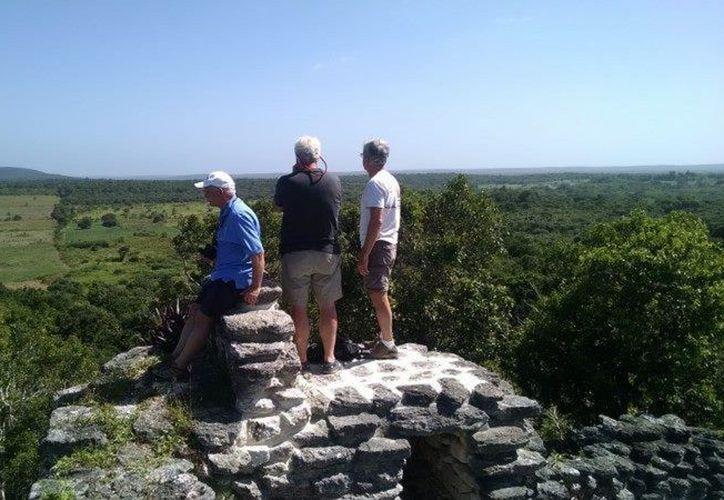 El proyecto ecoturístico en la zona contempla avistamiento de aves, senderismos e interacción con la naturaleza. (Javier Ortiz/SIPSE)