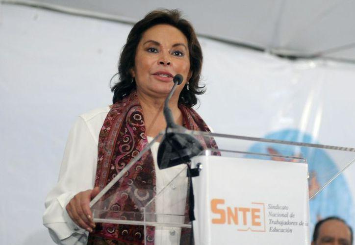 Gordillo apoyó la Reforma Educativa. (Archivo/Notimex)