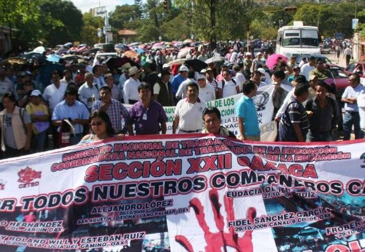 Los docentes revelaron que se movilizarán en la capital como en las principales plazas públicas de la entidad. (Archivo Agencias)