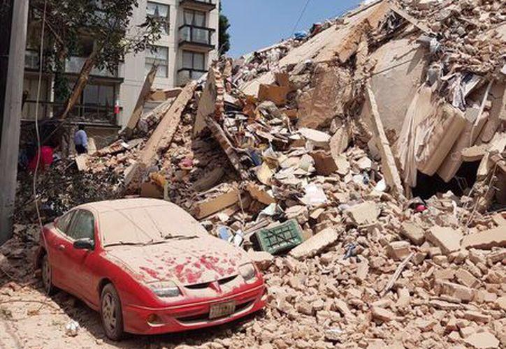 Al menos seis personas han perdido la vida a consecuencia del sismo de 7.1. (Twitter).