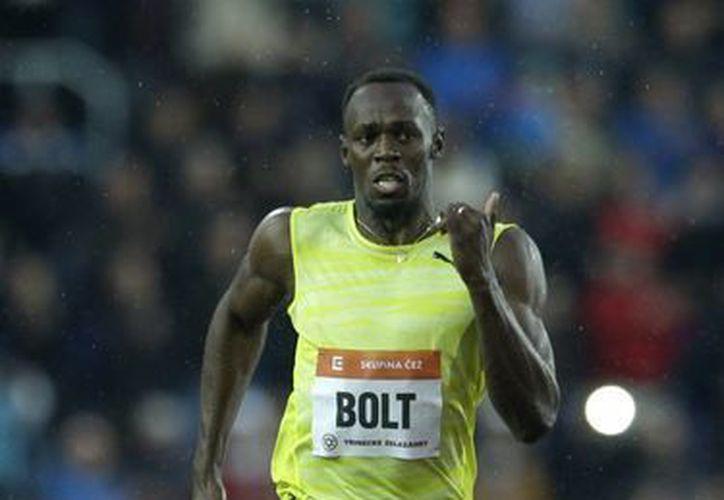 Pese a que ha padecido varias lesiones en los últimos tiempos, el velocista jamaiquino Usain Bolt ganó en los 200 metros de Ostrava al cronometrar 20.13 segundos. (Foto. AP)