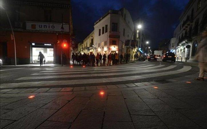 La plaza de los Quatre Cantons es una zona muy concurrida por los habitantes del municipio barcelonés de Sant Cugat del Vallès. (Twitter.com/@ColominaJavier)