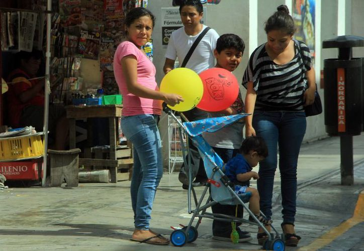 El fuerte calor se mantendrá en la Península de Yucatán. (José Acosta/SIPSE)