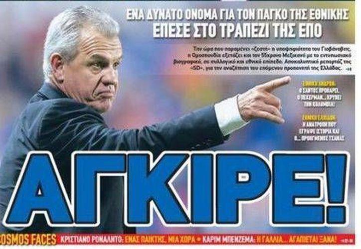 """De acuerdo con el diario griego """"Sport Day"""" Javier Aguirre dirigiría la selección de ese país una vez terminada la Copa del Mundo de Brasil 2014. (Milenio)"""