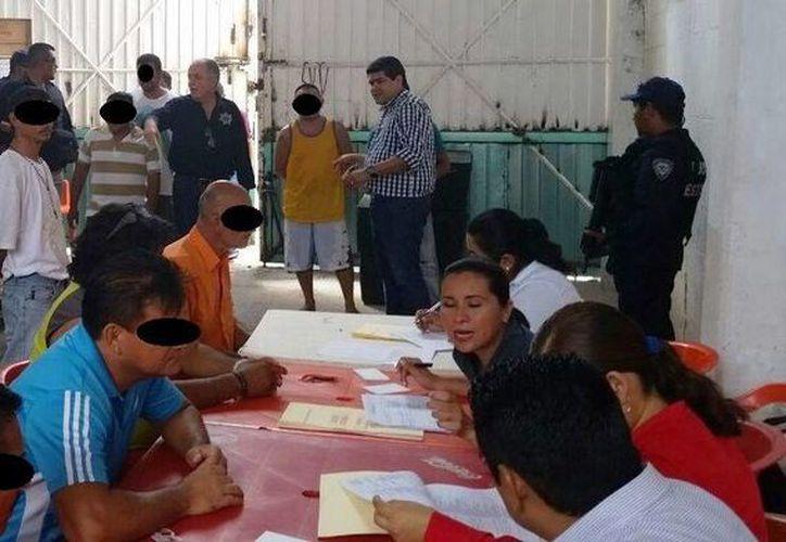 Iniciaron las brigadas de Defensoría Pública en el Cereso de Cancún. (Cortesía)