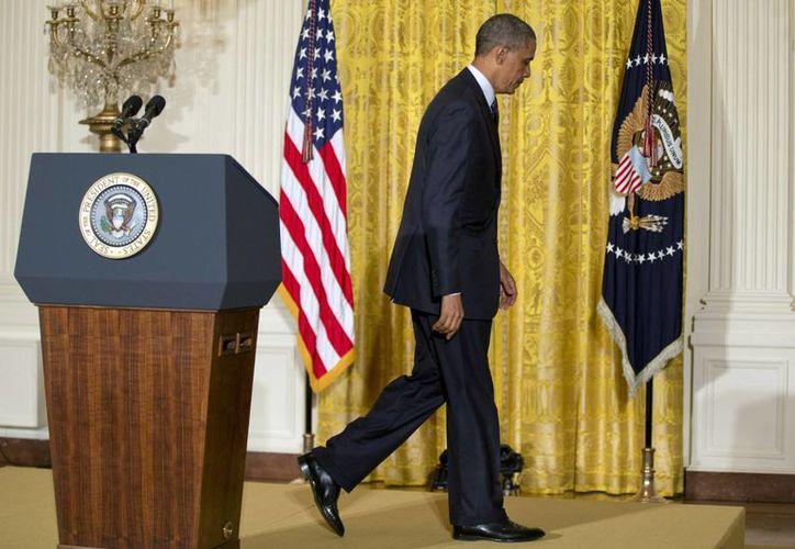 El Presidente se dijo 'muy disgustado' por el asunto. (Agencias)