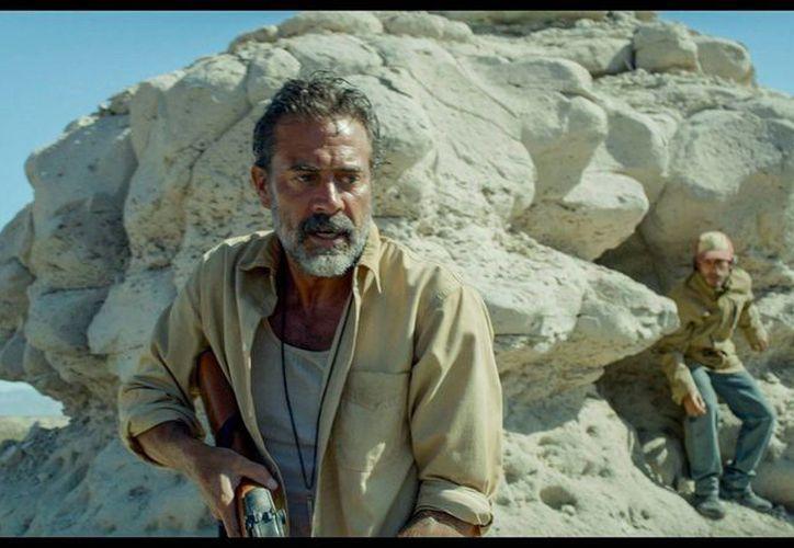 En 'Desierto', Jeffrey Dean Morgan interpreta a Sam, un estadounidense cazador de migrantes. (Facebook: Desierto)
