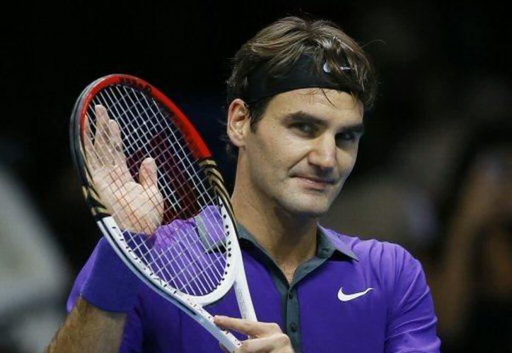 Federer se mostró agradecido con el recibimiento que le dio el público. (Agencias)