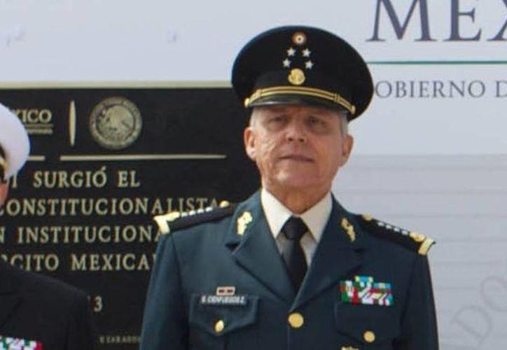 El secretario de la Defensa Nacional, Salvador Cienfuegos Zepeda. (impacto.mx)