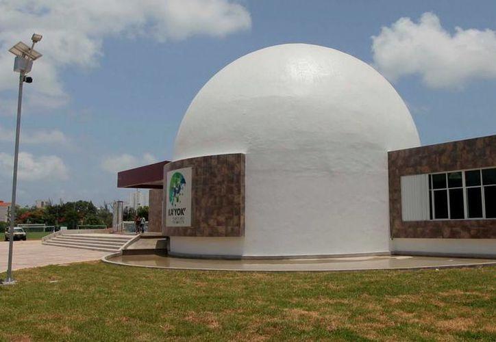 Ambos eventos se realizarán el día sábado 20 de septiembre en Planetario Cancún Ka' Yok'. (Redacción/SIPSE)