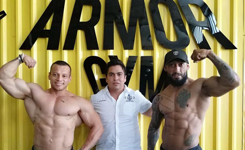 Miguel Gamboa Acuña , Emmanuel Alcántara  y Juan Diego Cabrera