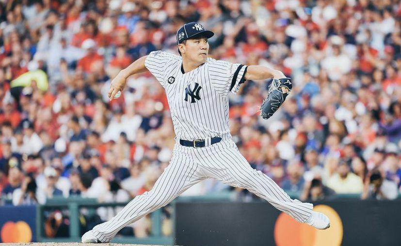 El japonés Masahiro Tanaka se llevó el triunfo. (Foto: @MLBStats)