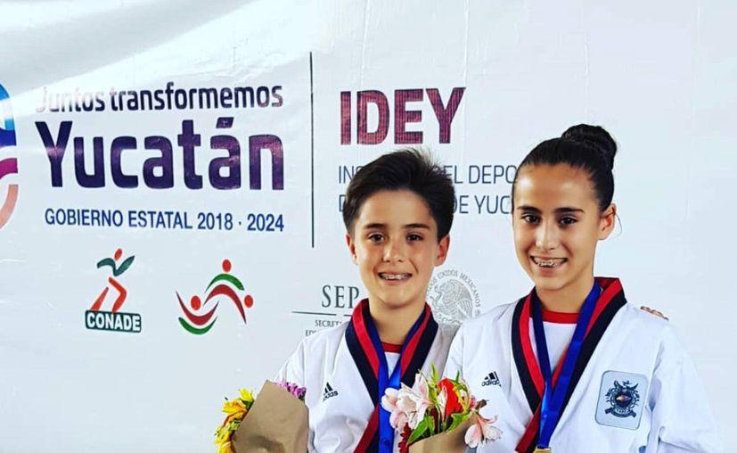Los gemelos Alec y Ana Sofía Alger Velasco participarán en el campeonato.