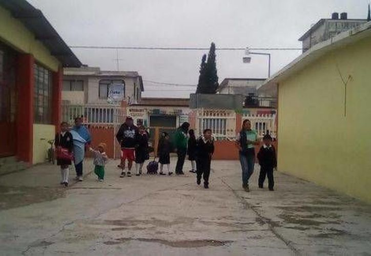 Después de 14 días, arrancó el ciclo escolar en Nochixtlán, Oaxaca. (Óscar Rodríguez/Milenio)