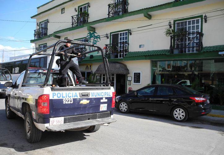 Pocos aspirantes a policía pasan los exámenes de confianza. (Israel Leal/SIPSE)