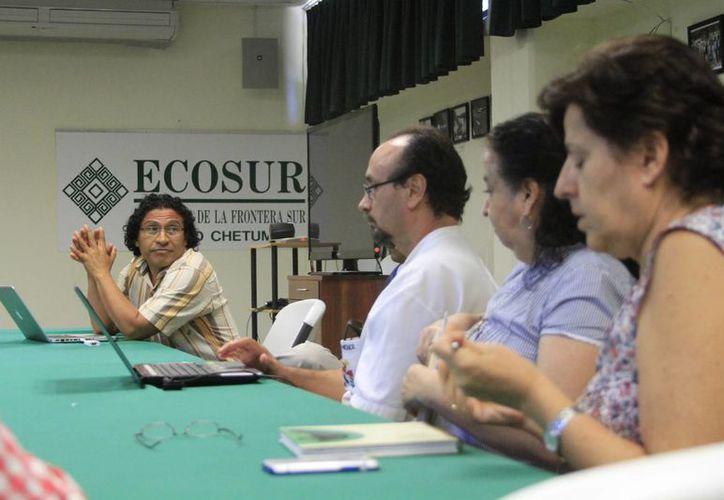 Mediante una presentación de 20 minutos en las instalaciones de Ecosur, cada investigador resumió el trabajo a realizar. (Ángel Castilla/SIPSE)