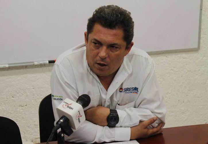 Wilberth Esquivel Zanoguera dijo que el 7 de enero los contribuyentes comenzaron con el registro en Benito Juárez. (Jesús Tijerina/SIPSE)