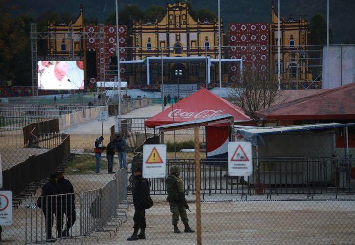 La llegada del Papa Francisco en Chiapas será el 15 de febrero. (Luis Soto/SIPSE)
