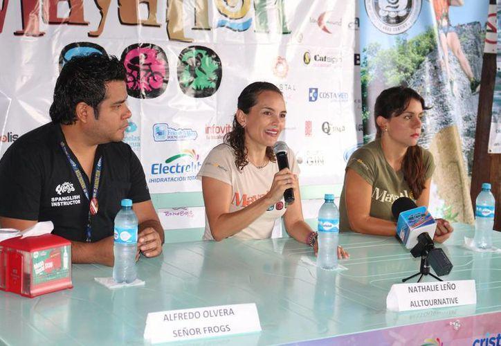 Representantes de Alltournative, empresa que organiza el evento, dieron a conocer los detalles. (Adrián Barreto/SIPSE)