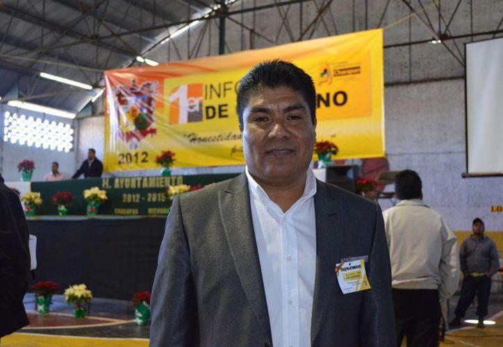 Simón Vicente Pacheco fue trasladado a Morelia en un fuerte dispositivo de seguridad. (elpaisamichoacano.com)