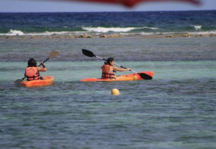 La promoción turística de Mahahual se beneficio con al campaña lanzada el mes pasado. (Redacción/SIPSE)