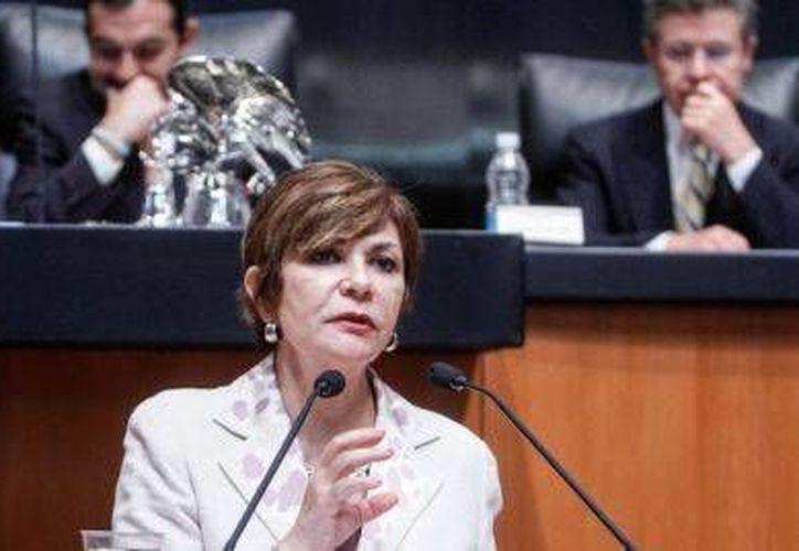 Una de las senadoras más productivas es Angélica de la Peña, del PRD. (www.senado.gob.mx)