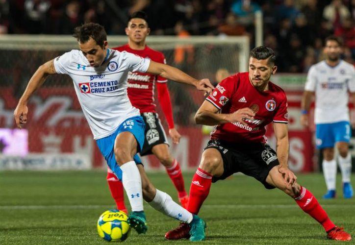 Cruz Azul y Xolos se enfrentarán este sábado en el Estadio Azul. (Foto: Internet)