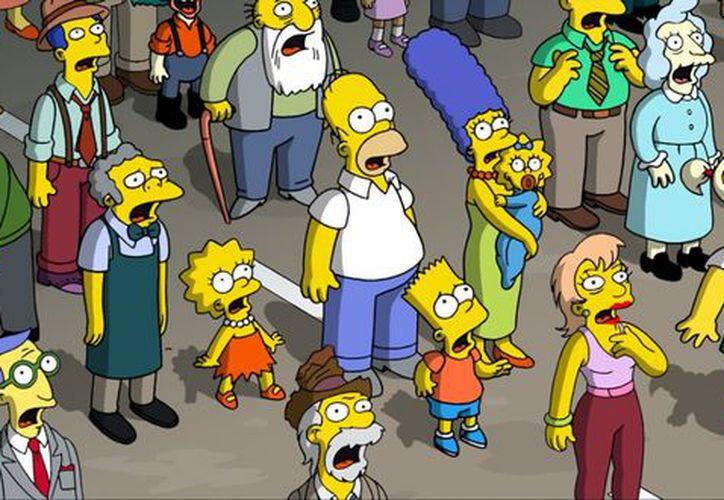 Los Simpson se han mantenido temporada tras temporada. Incluso ya tienen una película. (Agencia Reforma)