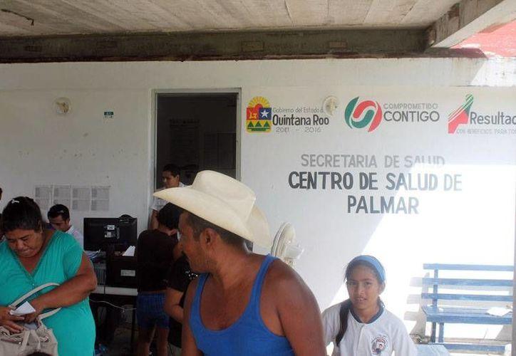 Los labriegos sólo tienen acceso a las casas de salud donde solamente les otorgan la atención básica. (Juan Palma/SIPSE)