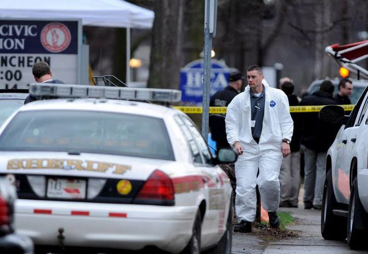 Tras el ataque a tiros contra un cuartel policiaco en Blooming Grove, Pennsylvania, el responsable permanece prófugo. (EFE/Archivo)