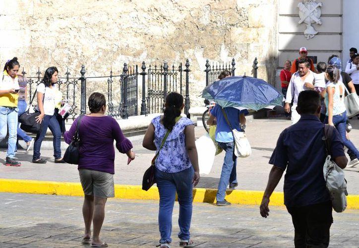 Continuarán el calor y los chubascos en Yucatán debido al incremento de humedad. (SIPSE)