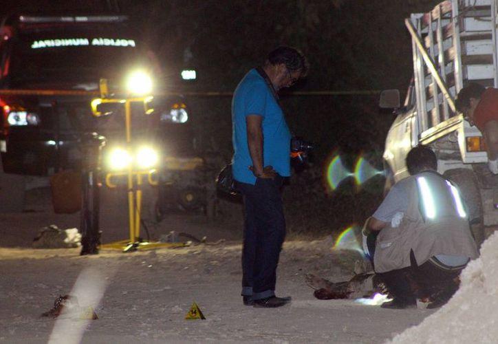 Tras el asesinato de un ladrón, la noche del domingo en Kanasín, la Fiscalía determinó que no lo mataron vecinos sino sus cómplices, que ya fueron arrestados. (SIPSE)