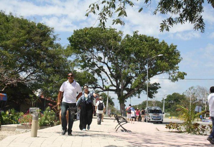 La segunda parte de la remodelación del acceso a la zona arqueológica de Tulum se hará sin recursos del INAH. (Sara Cauich/SIPSE)