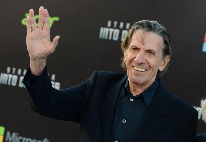 El Comic Con de San Diego este año estará dedicado a Leonard Nimoy, quien personificó al Sr. Spock en Star Trek. (losandes.com.ar)