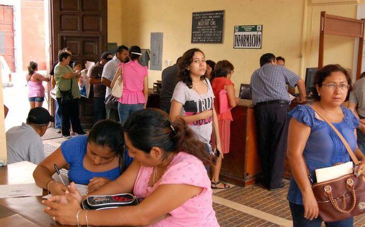 El Poder Ejecutivo determina el precio de servicios del Registro Civil. (Milenio Novedades)