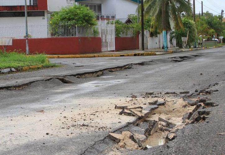 Para atender los daños, Othón P. Blanco requiere 135 a 136 millones de pesos. (Ángel Castilla/SIPSE)
