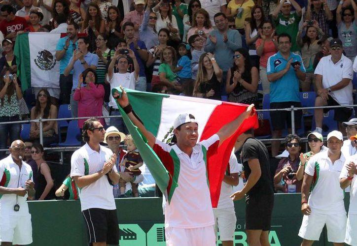 La Copa Davis regresa a Baja California después de tres décadas, al disputar el trofeo en 1981, entre México y Suiza. (Contexto/Internet)