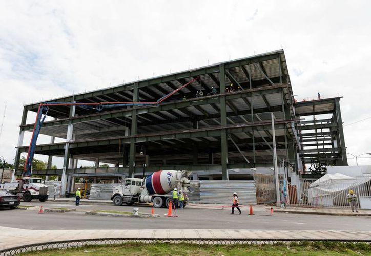 20% es lo que lleva la construcción del segundo edificio del Hospital Militar Regional en Mérida. (SIPSE)
