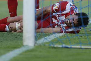 Impactante lesión de Diego Costa