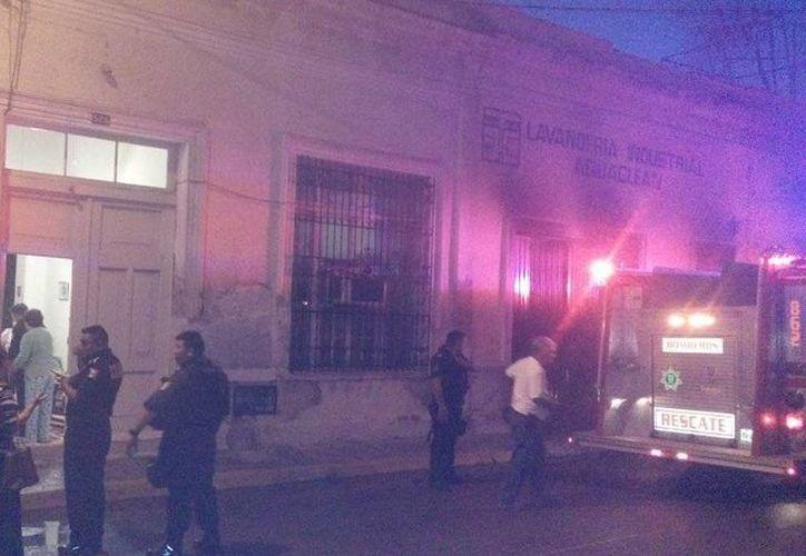 La lavandería incendiada se encuentra en la calle 55 entre 62 y 64. (Milenio Novedades)