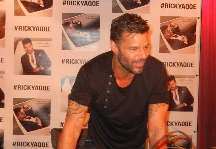 El nuevo sencillo de Ricky Martin lo estrenará en el final del programa 'American Idol'. (Notimex)