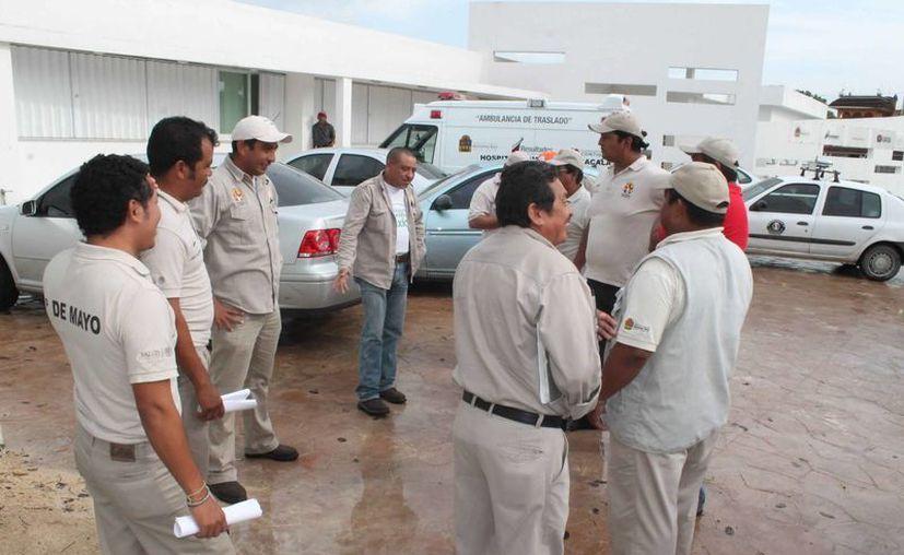 El personal de la dependencia se quedó sin base operaciones. (Carlos Horta/SIPSE)