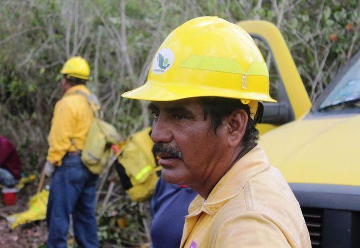 El objetivo es que los conocimientos se multipliquen, a un mayor número de personas involucradas en acciones de prevención, combate y control de incendios. (Edgardo Rodríguez/SIPSE)