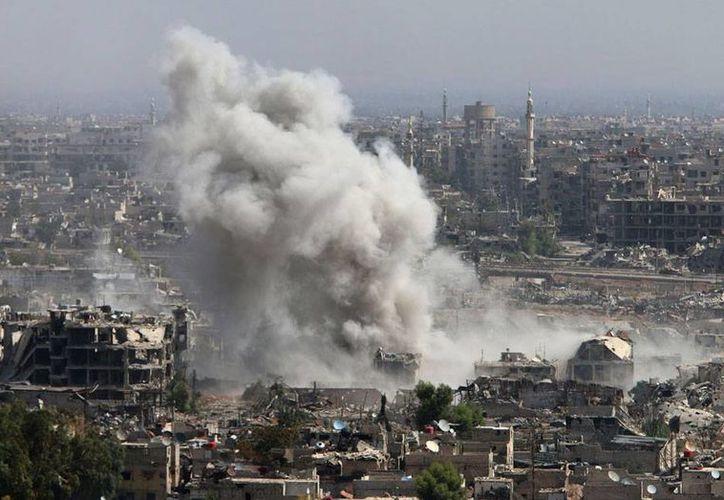 Los bombardeos en Siria mataron un líder la organización Al Qaeda. (AP/Archivo)