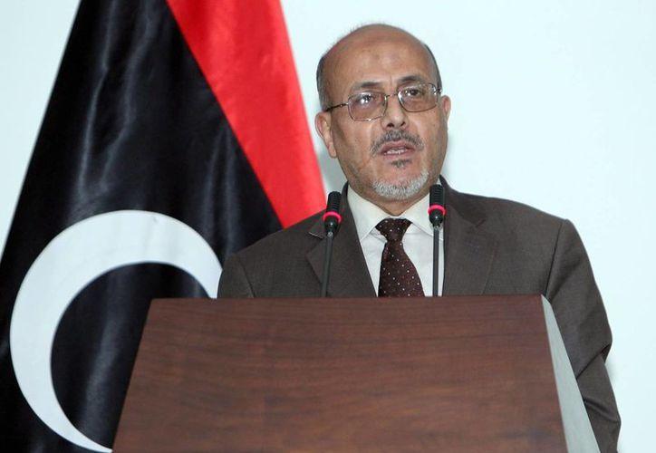 Fuerzas políticas opuestas aseguran que la elección de  Ahmed Matiq como primer ministro fue anticonstitucional. (EFE)