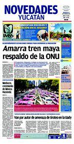 Amarra tren maya respaldo de la ONU