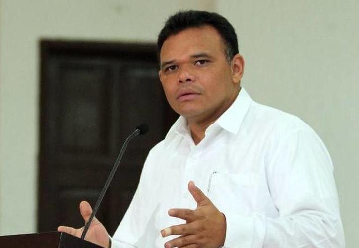 El nuevo Hospital Materno Infantil fue sede del sexto Informe de Gobierno de Rolando Zapata Bello. (SIPSE)